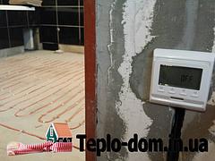 Теплый пол Fenix ( 10 вт.м пог( Тонкий кабель 3.5 мм . Мат без сетки )