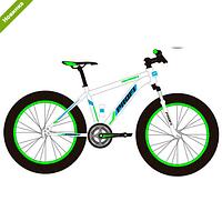 Спортивный велосипед Profi EEB26HIGHPOVER 2.0 A26.1 бело-зеленый ***