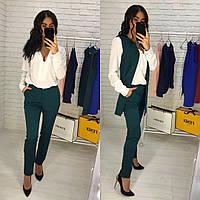 Женский костюм жилет и брюки (4 цвета)