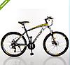 Спортивный велосипед 26 дюймов Profi EB26FORMAT A26.3 черно-желтый ***