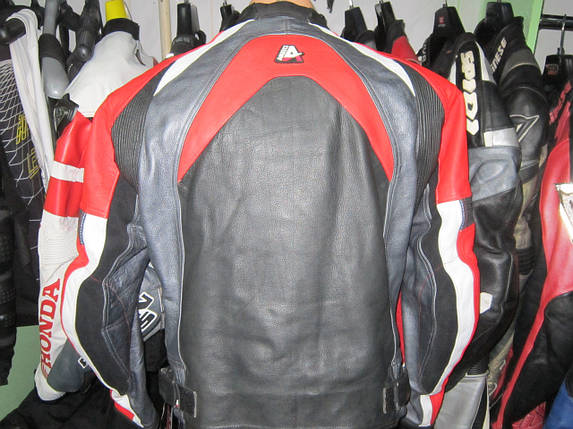 Мотокуртка бу кожа  AKITO, фото 2