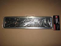 Рамка номера нержавейка DK-0508-01 <ДК>