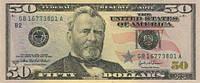 Сувенирные деньги, пачка по 50, 20 и 10 долларов