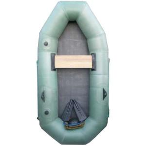 Бюджетная надувная лодка Лиса 1,5-местная