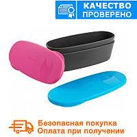 Туристическая посуда SnapBox oval 2-pack Fuchsia/Cyan (40414513), фото 1