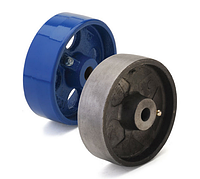 Колеса термостойкие из чугуна диаметр 125 мм. Серия 72