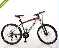 Спортивный велосипед 26 дюймов Profi EB26FORMAT A26.1 черно-красный ***
