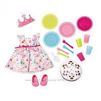 Одежда для куклы Baby Born День рождения с тортиком Zapf Creation 825242