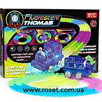 НОВИНКА !!! Детская железная дорога-трек паровозик Томас Fluorescent Thomas