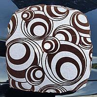 Мягкая накидка-сидушка на стул от производителя