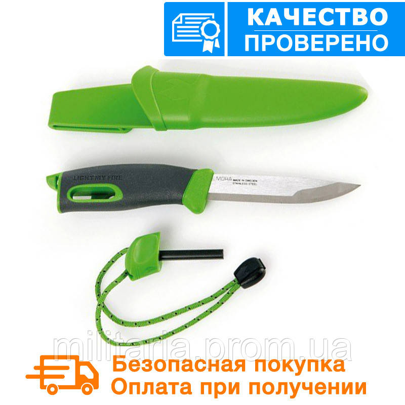 Нож-огниво light my fire KNIFE Green (12113310)