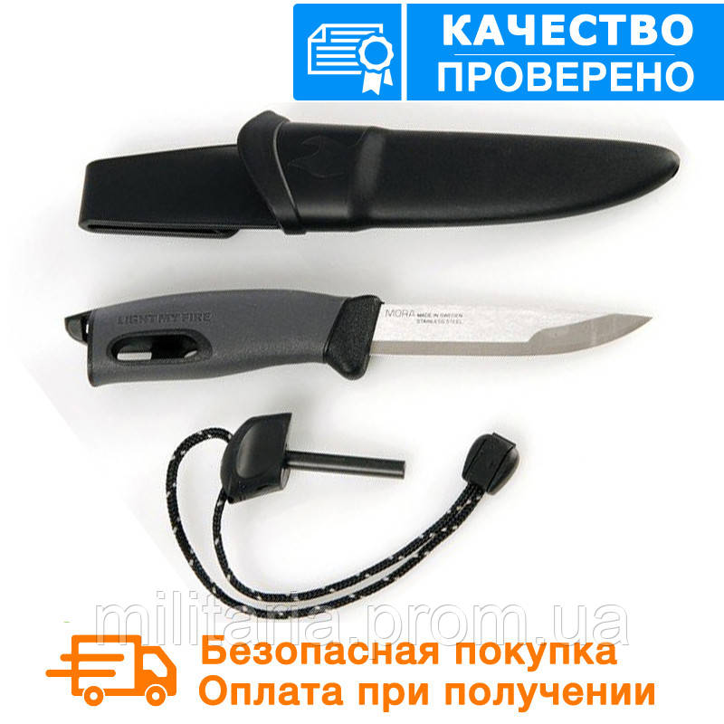 Нож-огниво light my fire KNIFE Black (12112010)
