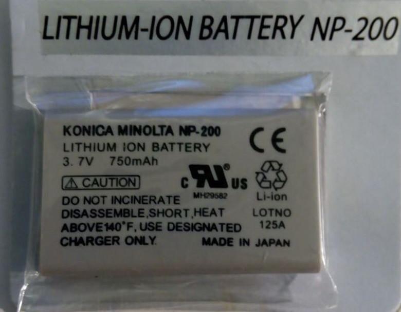 Акумуляторна батарея KONICA MINOLITA NP-200