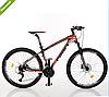 Велосипед спортивный  Profi 27.5д.EB275 STUBBORN CB275.1 черно-красный ***