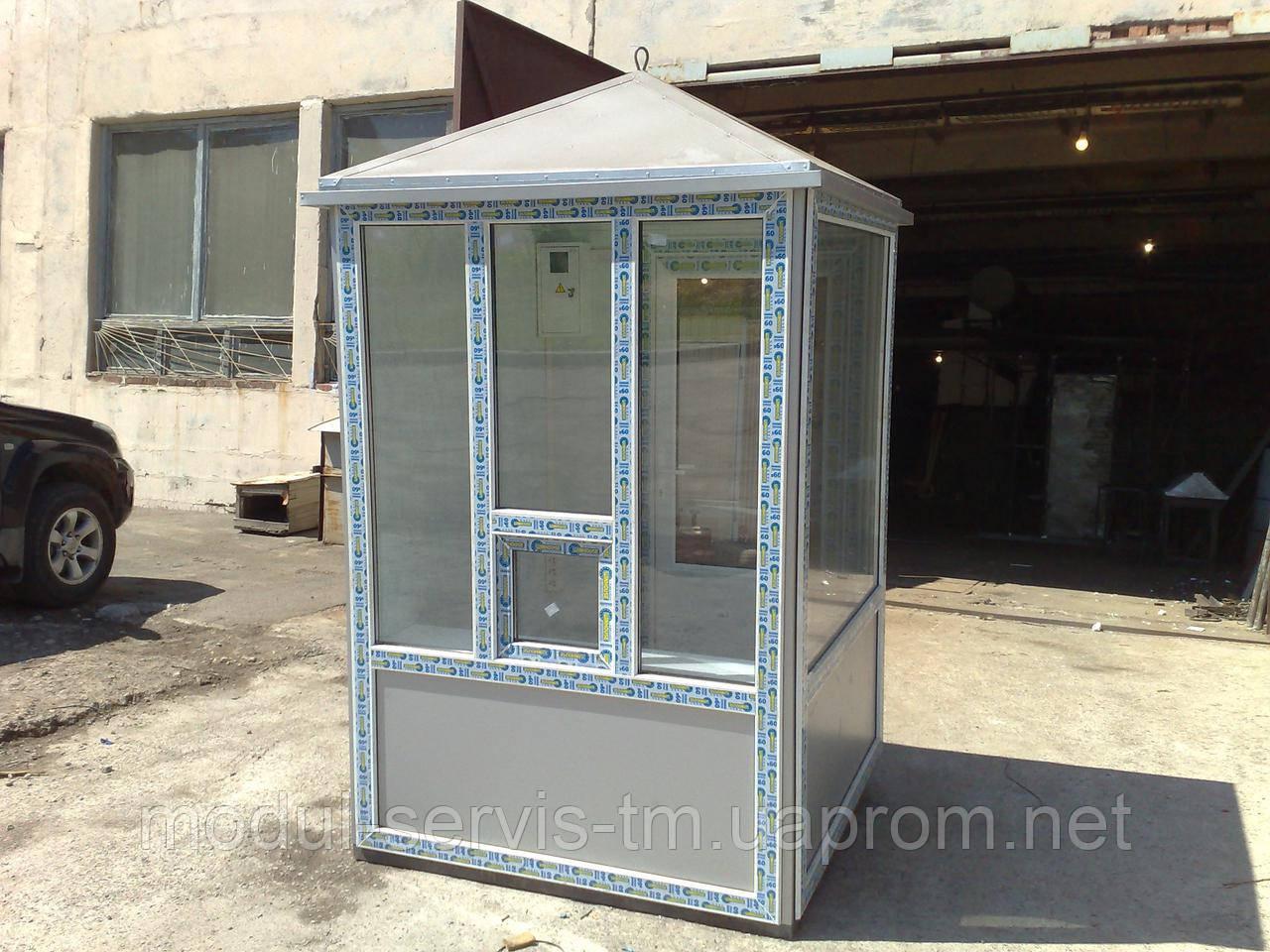 Изготовление будок охраника