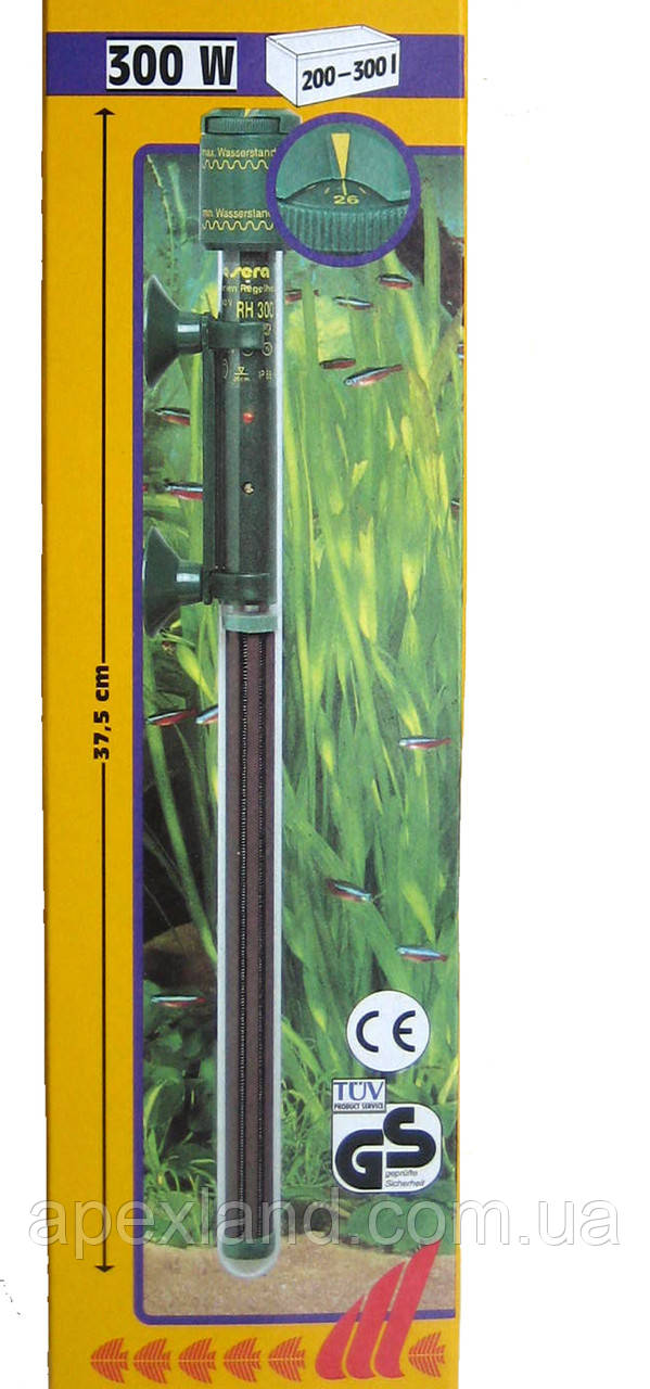 Аквариумный подогреватель с терморегулятором Sera 300