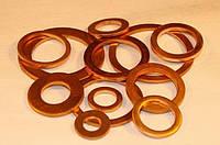 Шайба (уплотнительная) медная 3х9х1,5 (конус) ( в пачке 100 шт.)
