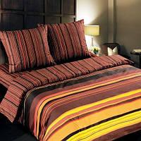 Ткань для постельного белья, поплин Шоколад