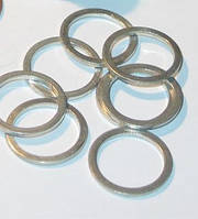 Шайба (уплотнительная) алюминиевая: 14х22х1,5 ( в пачке 100 шт.)