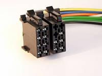 Евроразъем для автомагнитол. ISO Male (питание + акустика), фото 1
