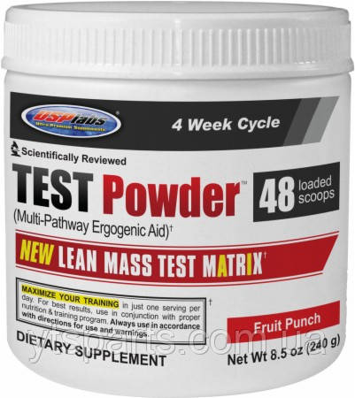 USPlabs TEST Powder	48serv