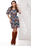 Трикотажное женское платье Шанель Колори из Ангоры