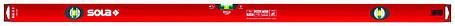 Уровень строительный SOLA BigX 120, 120см, 2 колбы, эпоксидная поверхность, фото 2