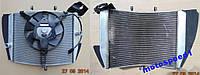 Радиатор охлаждения двигателя и вентилятор Kawasaki Ninja 636 ZX6R