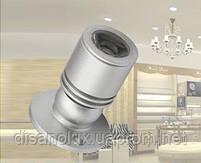 Светильник для подсветки витрин  LED  LW -3W 4500К 230в  серебро, фото 5
