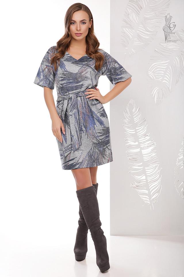Цвет-4 Трикотажного женского платья Шанель Колори
