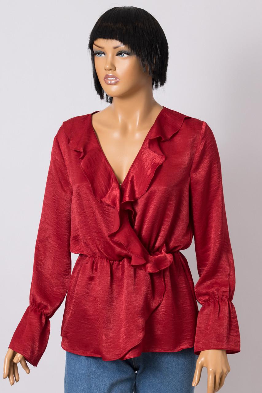 Блуза женская BSL 9957 EMU MILIA BORDO