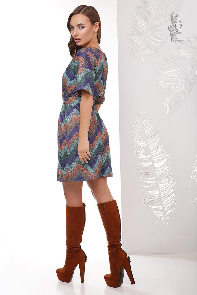 Фото-1 Трикотажного женского платья Шанель Колори