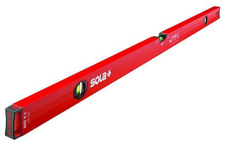 Уровень строительный SOLA BigX 200, 200см, 2 колбы, эпоксидная поверхность, фото 2