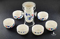 """Гайвань-колба, + пиалы для чаепития. Набор """"Компактный"""" для поездок, фото 1"""
