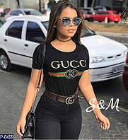 Женская футболка Gucci