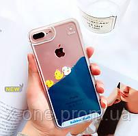 Чехол для iPhone плавающие утята Lovely Duck.