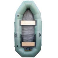 Бюджетная надувная лодка Лиса 2-местная
