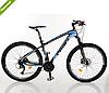 Велосипед спортивный Profi 27.5д. EB275 STUBBORN CB275.черно-синий   ***