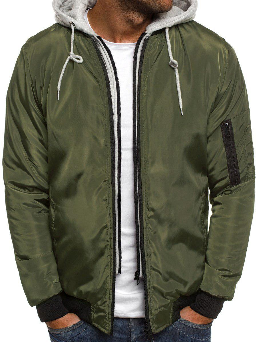 698874c67cb2 Куртка-кофта Мужская Оливковая (весна-осень) — в Категории