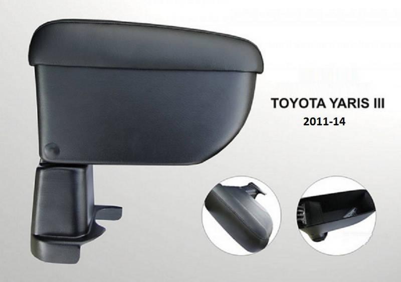 AR2TOCIK01210 Toyota Yaris 3 2010-2014 Armcik Стандарт armrest