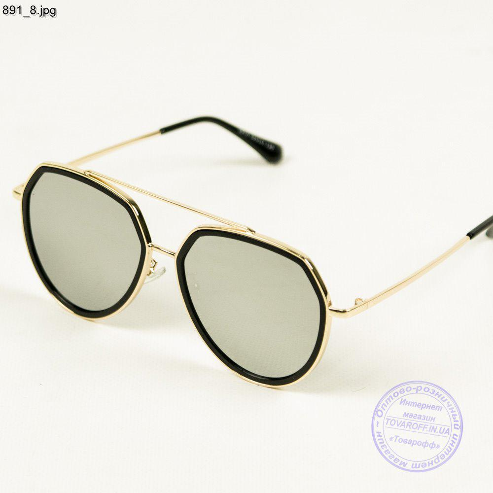 Оптом сонцезахисні окуляри унісекс дзеркальні - 891/3
