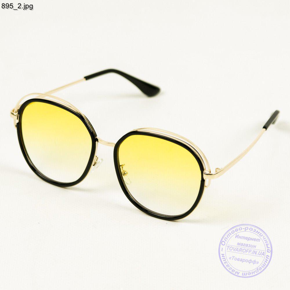 dc4e729b7c72 Оптом женские солнечные очки с желтой линзой - 895 - купить по ...