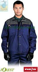 Куртка рабочая прочная мужская темно-синяя REIS Польша (рабочая униформа) BF GS