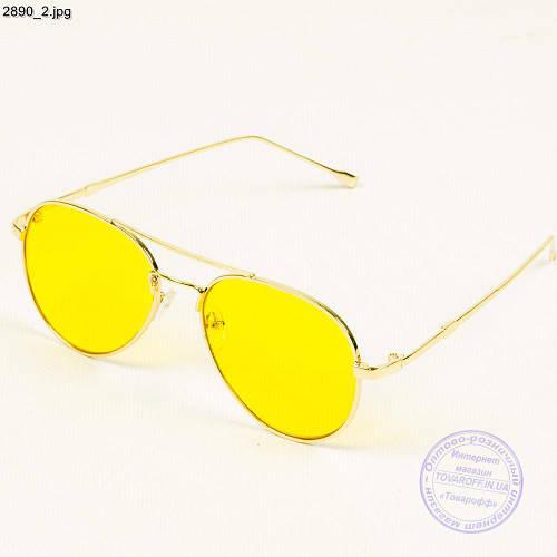 925cc07512a4 Оптом очки с желтыми стеклами авиатор - 2890 - купить по лучшей цене в  Украине от компании