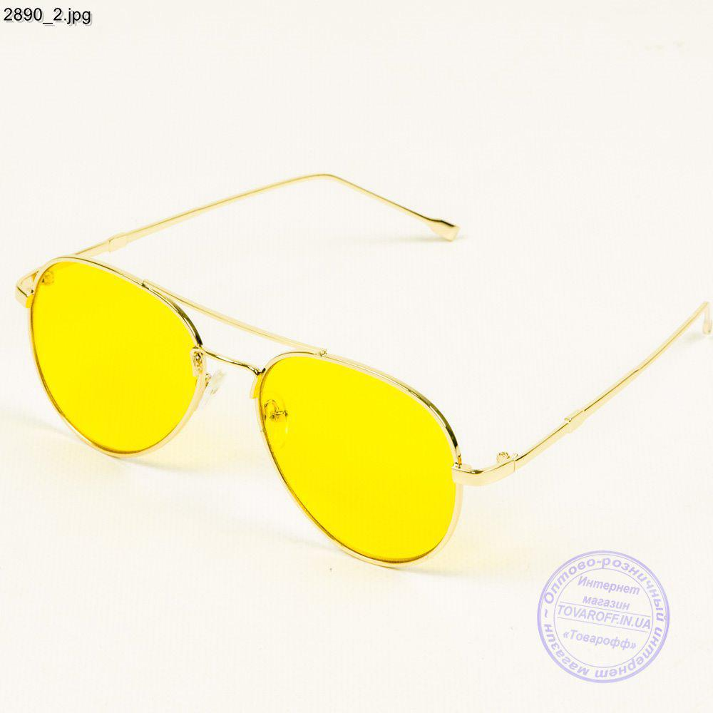 234bd1c0b186 Оптом очки с желтыми стеклами авиатор - 2890 - купить по лучшей цене ...