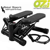 Степпер с эспандерами SP1 марки Total sport
