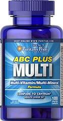 Puritans Pride ABC Plus Multivitamin and Multi-Mineral Formula 100caplets