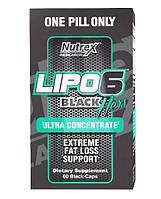 Nutrex Lipo-6 Black Hers Ultra Concentrate 60caps