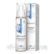 Derma E, Увлажняющая сыворотка с гиалуроновой кислотой, 60 мл