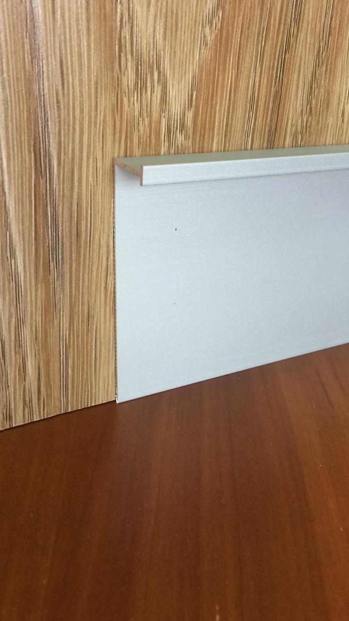 Скрытый плинтус SMG-100/73 White